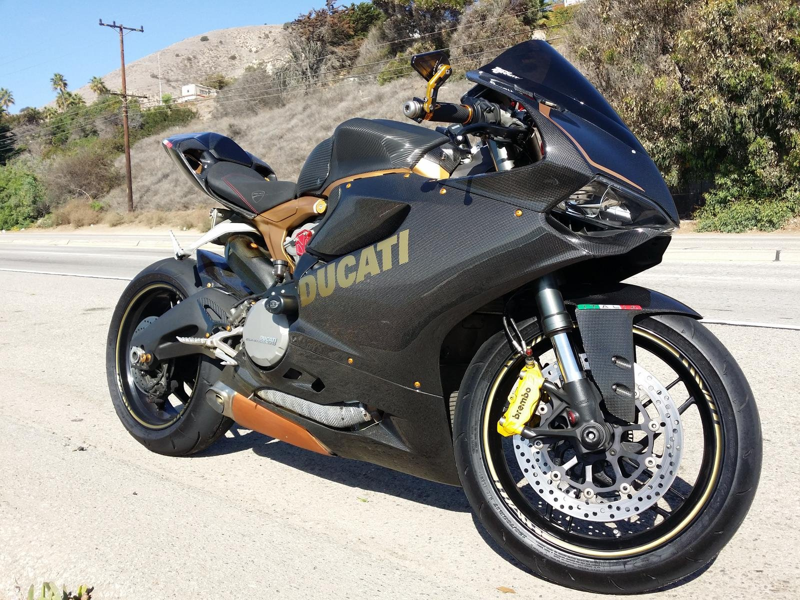 2014 ducati panigale 899 carbon 16500 los angeles. Black Bedroom Furniture Sets. Home Design Ideas