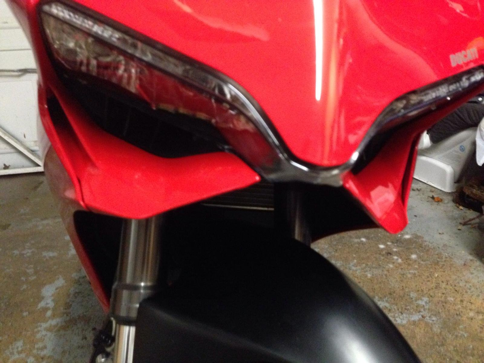 Ducati Headlight Condensation