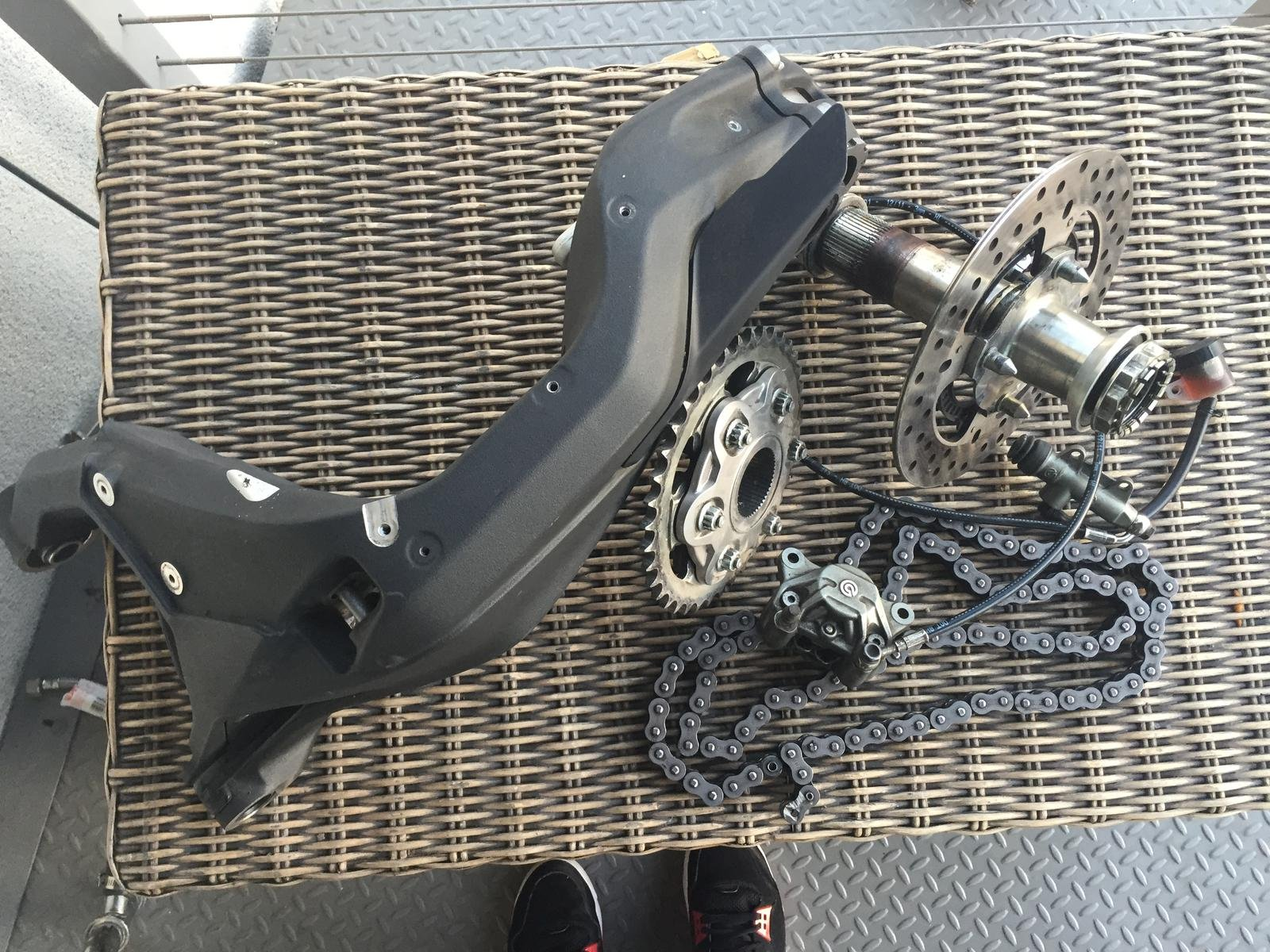 Single Sided Swingarm Conversion Kit For Ducati