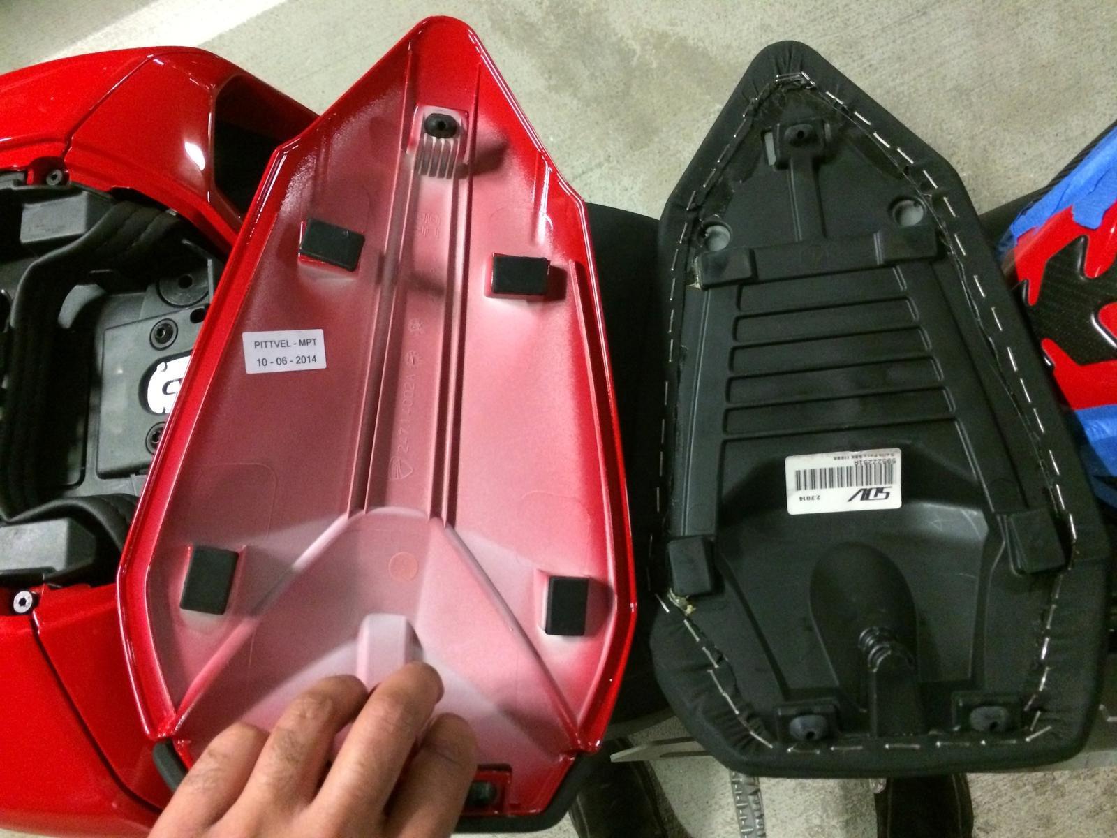 Ducati Monster Rear Seat