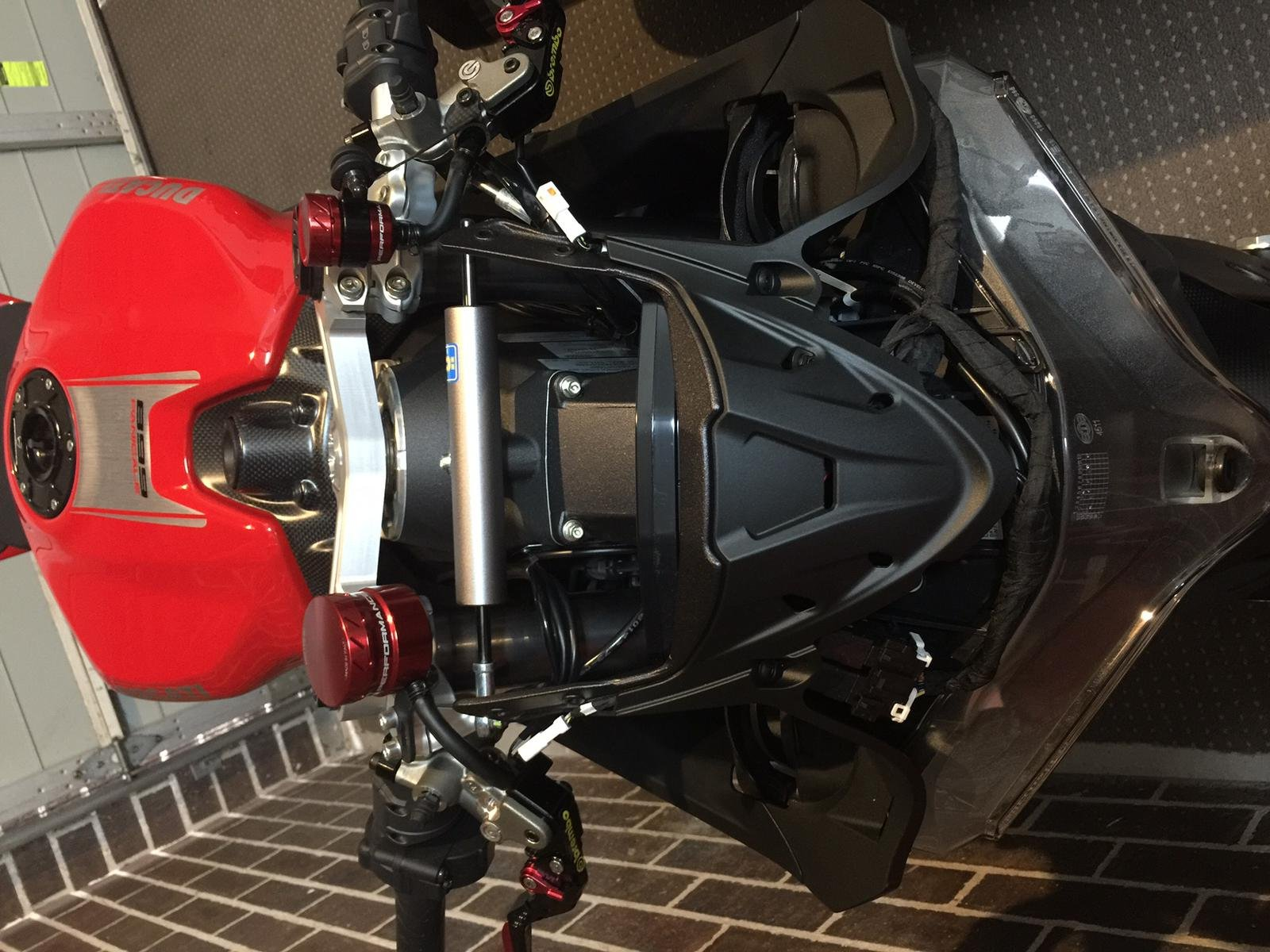 Ducati Front Fairing Removal