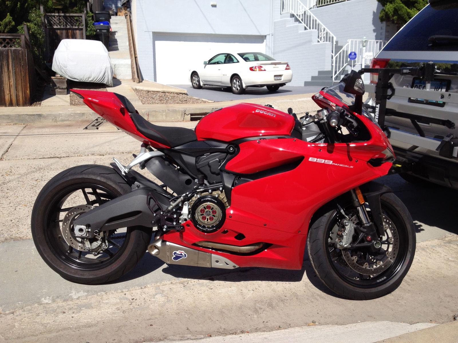 14 899 panigale for sale- extras low miles!!! - ducati 899